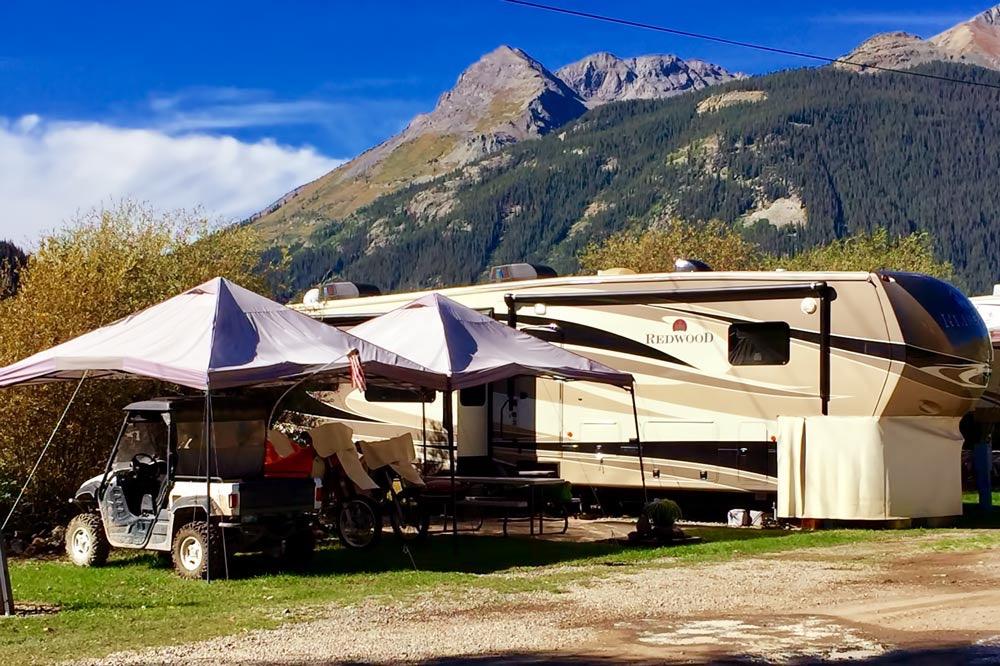 View our Silverton, CO RV Park : Silverton Lakes RV Resort